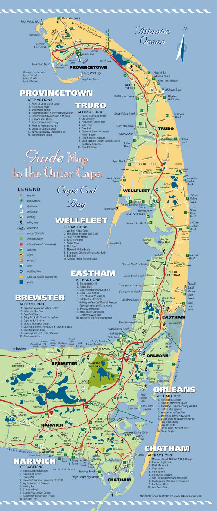 i am Provincetown ~ Cape Cod Map